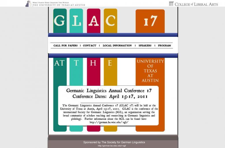 Variation 1 of my original GLAC 17 design