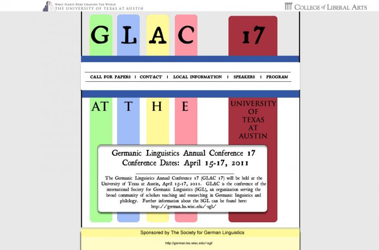 Variation 2 of my original GLAC 17 design