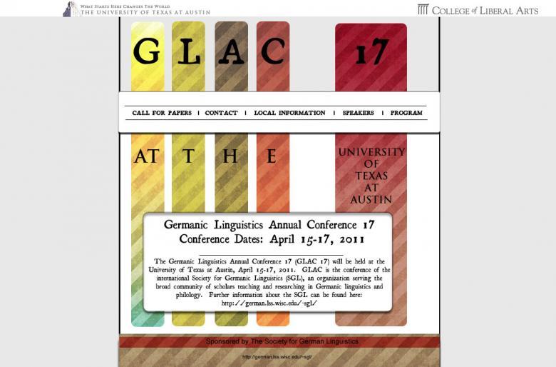 Variation 3 of my original GLAC 17 design