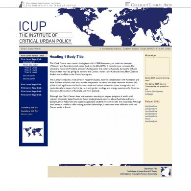 ICUP Mock Up