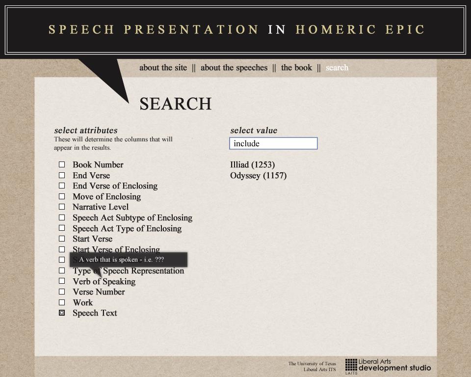 Homeric Epic -