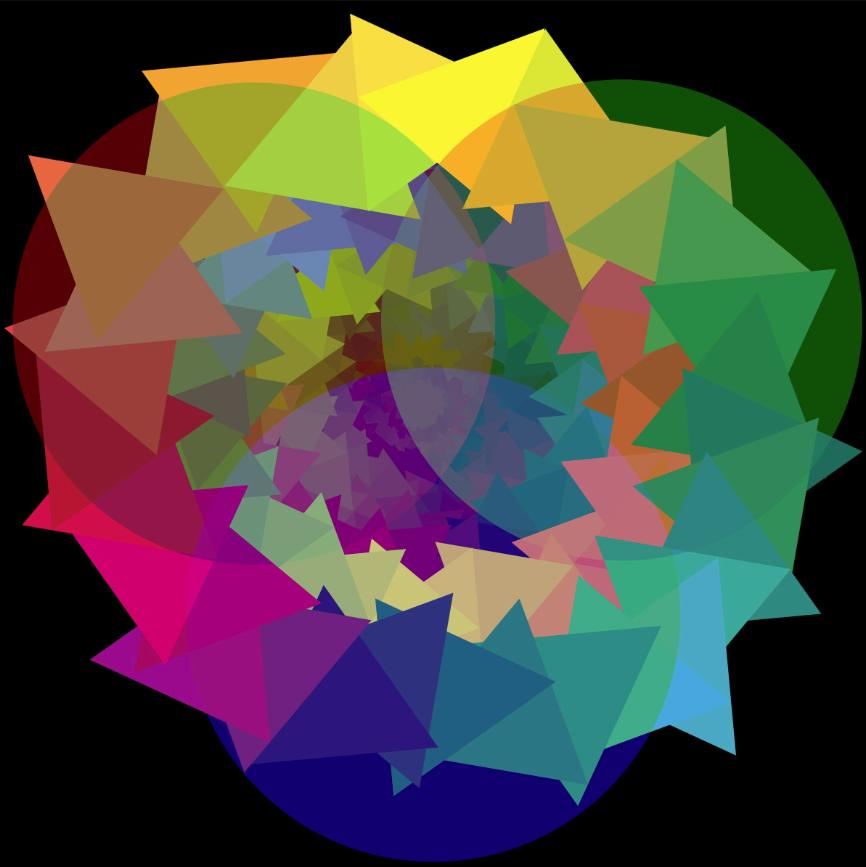 Black Color Wheel