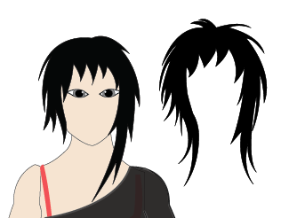Animated Character Hairstyle