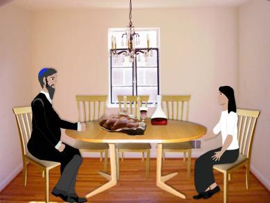 scene 4 orthodox dinner