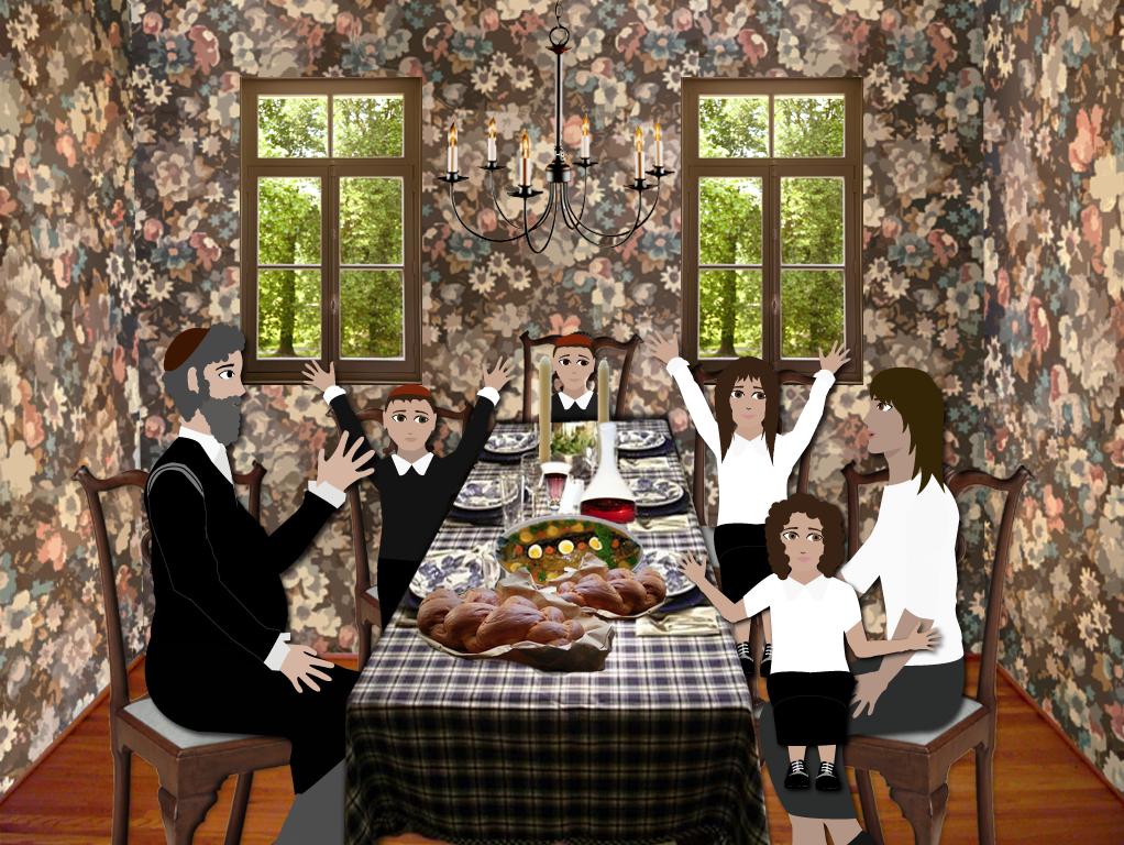 Shabbat Table Dinner