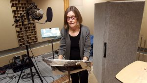 Dr. Liz Butler-Cullingford recorded audio for the three videos