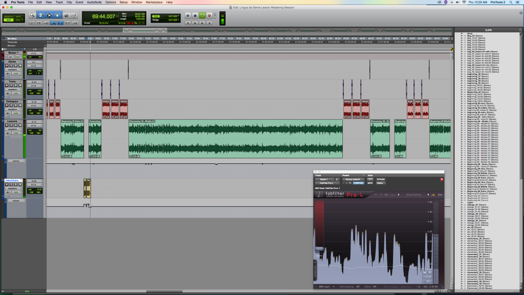 Pro Tools Podcast Session