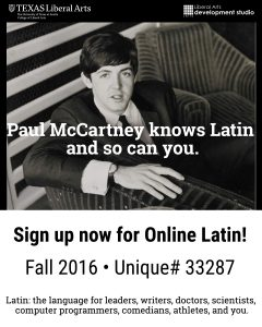 latin-paul mccartney-flyer-bw