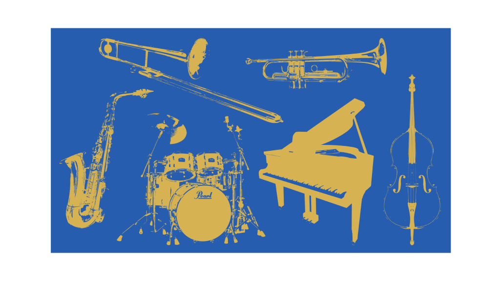 all-instruments-blue-gold