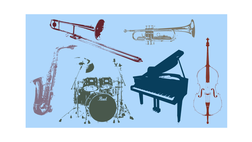 all-instruments-diff-color-blue-bg