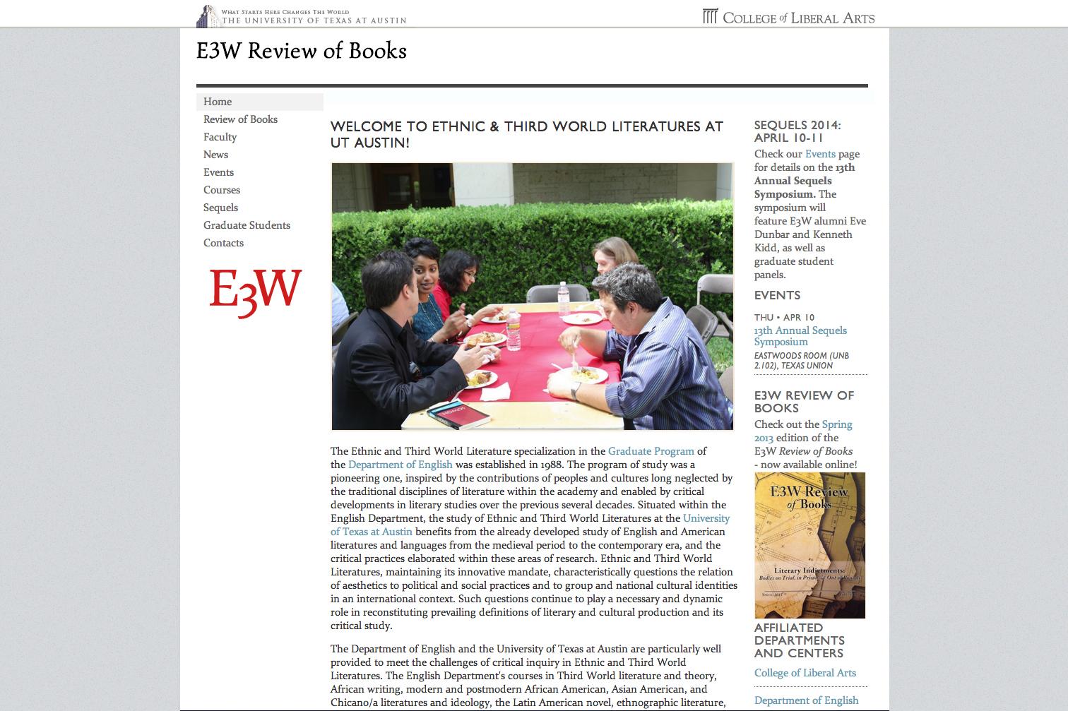 E3W homepage