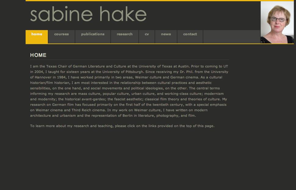 Webspace website