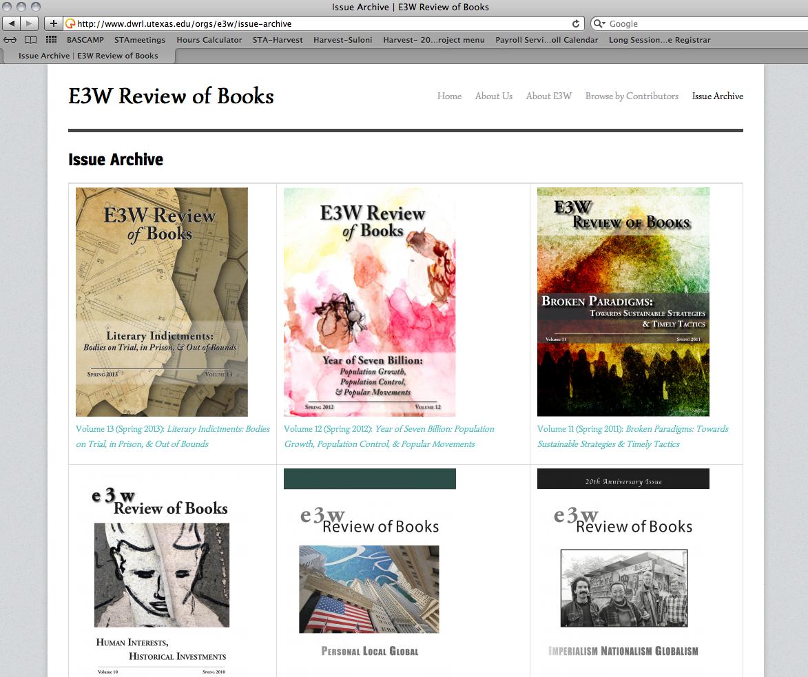 E3W Archive site