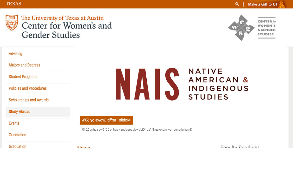 banner for Native American Indigenous Studies